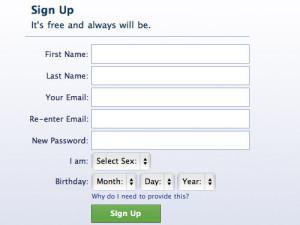 Sign up form. Pieteikšanas forma. Interneta mārketings. Reklāma internetā