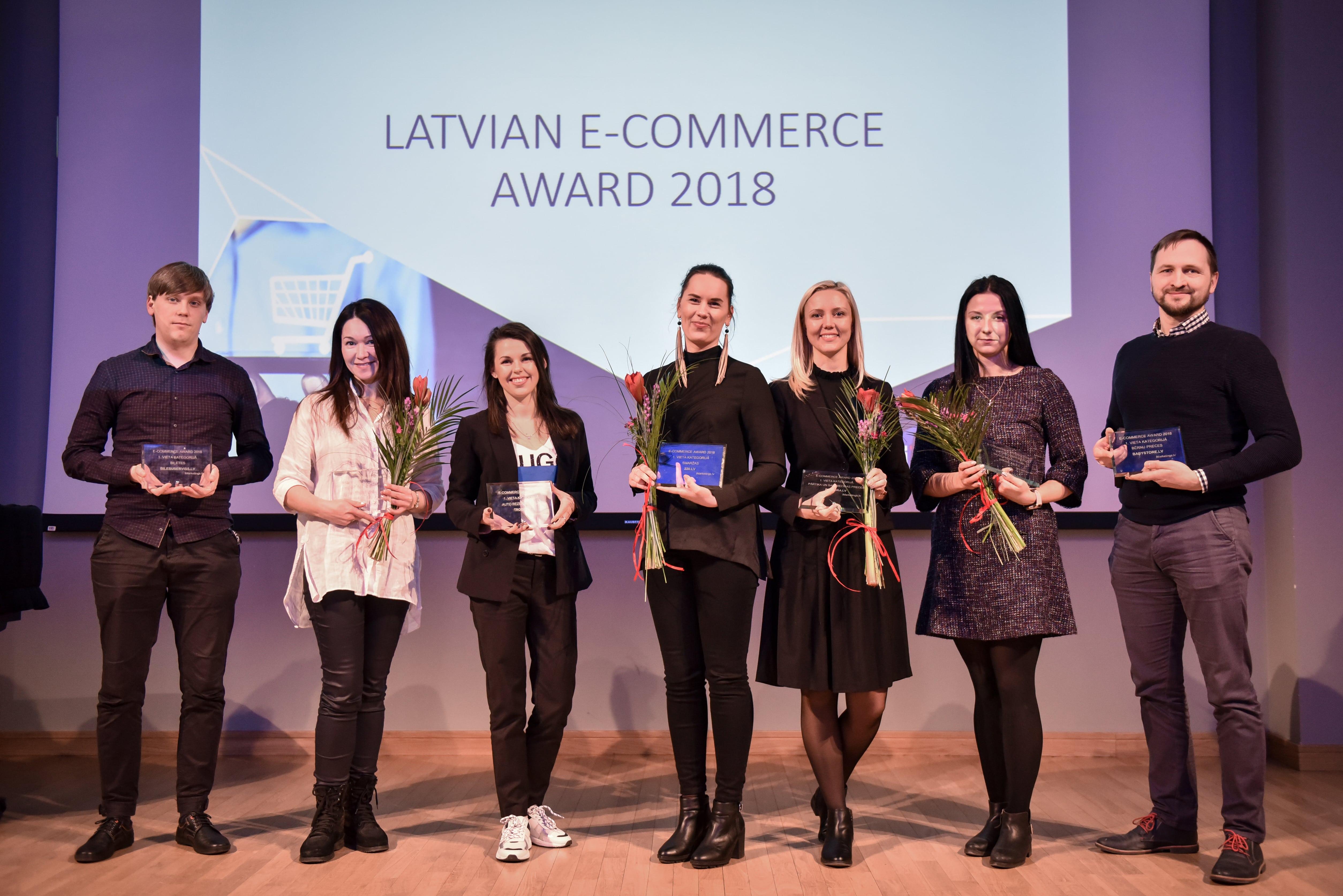 Latvijā labākie interneta veikali 2018