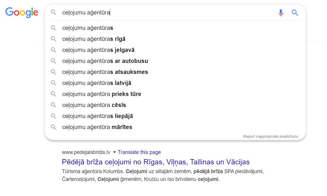Kā Latvijā mainījusies cilvēku uzvedībā meklētājā COVID dēļ Google Search Bar