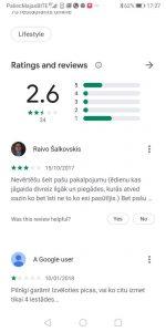 App, aplikāciju Reviews (aplikāciju virzīšana)