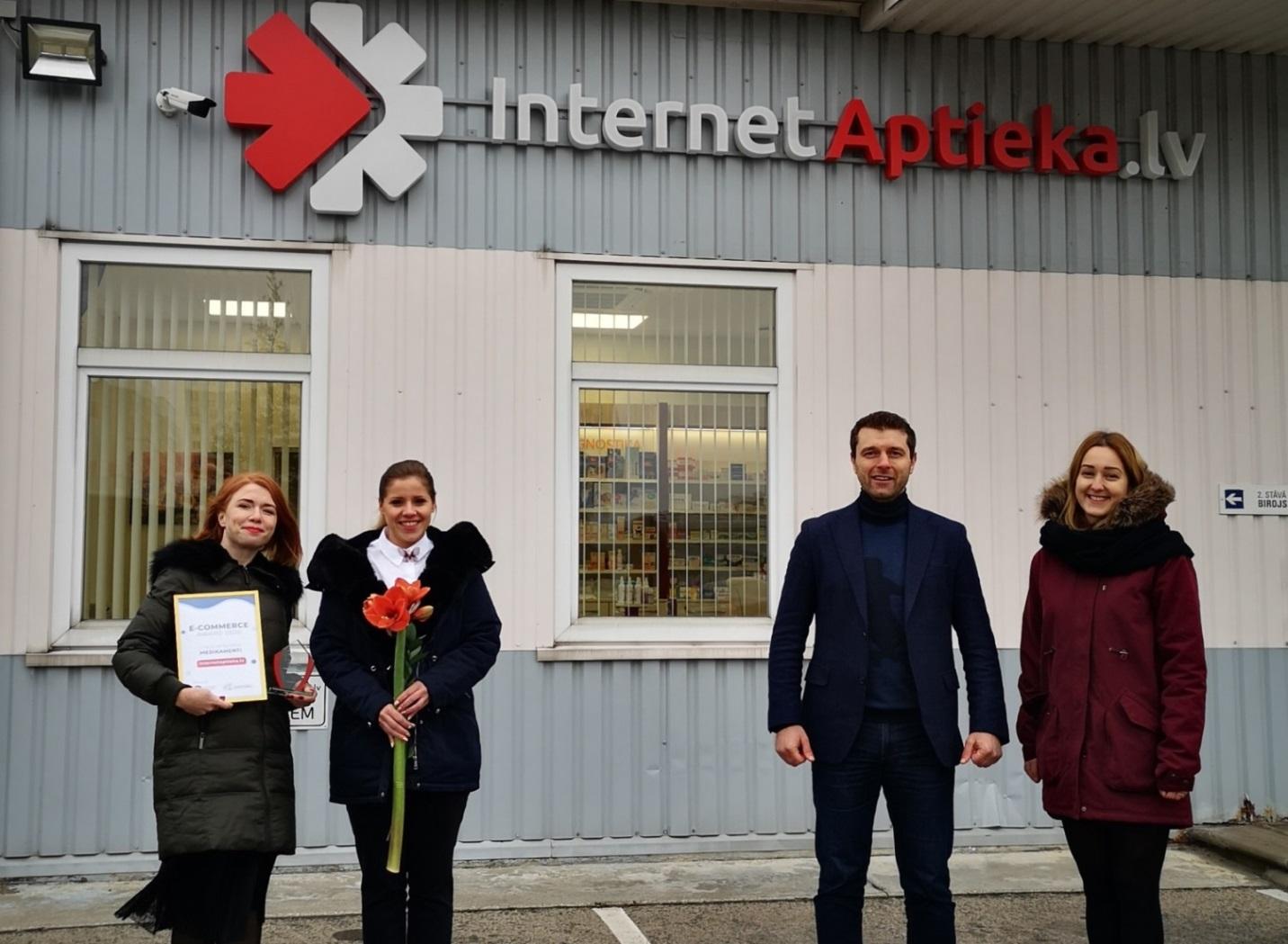 "Noskaidroti Latvijas interneta balvas ""The Latvian Ecommerce Award 2020"" ieguvēji"