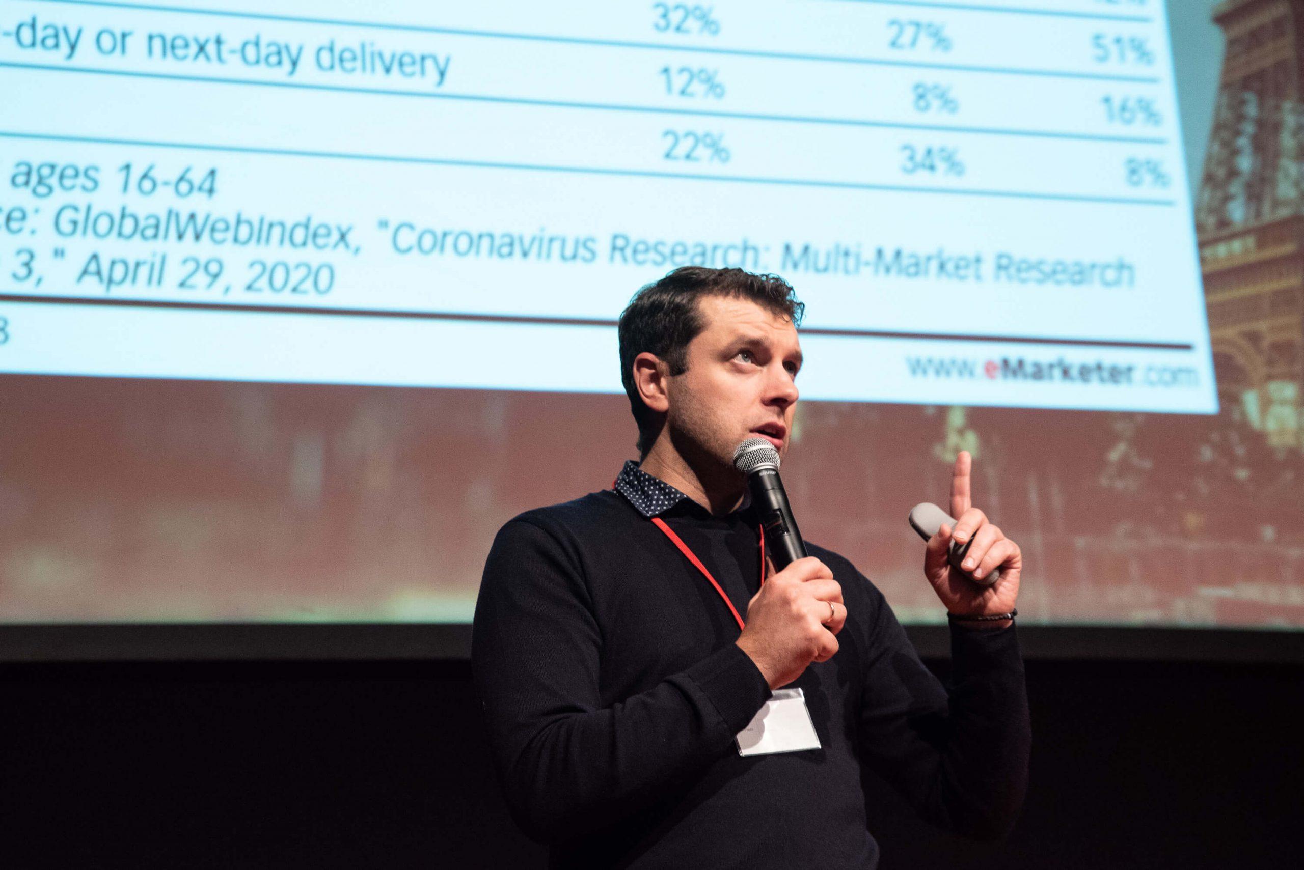 Par e-komerciju. Kā sasniegt labākus rezultātus ar digitālā marketinga palīdzību. iMarketings.lv, Sergejs-Volvenkins (PhD), RIGACOMM 2020