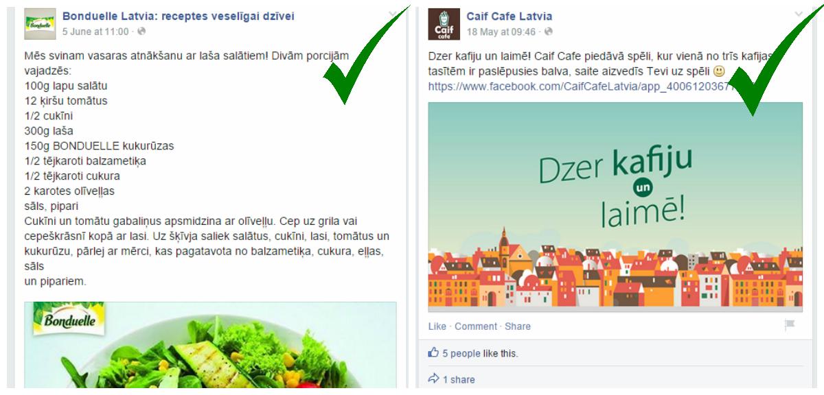 facebook lapas vadīšana