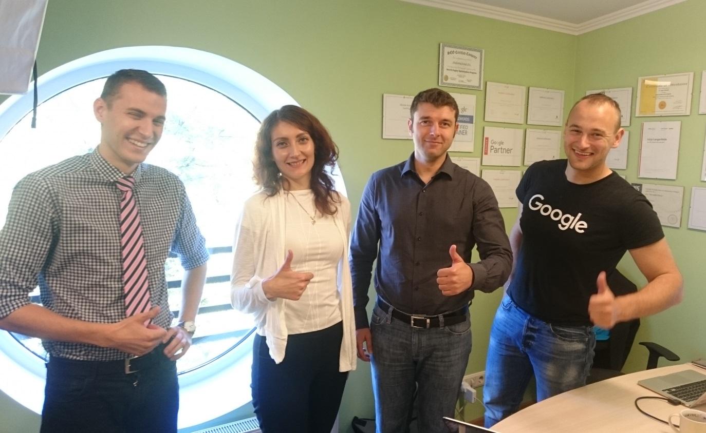 Google pārstāvja vizīte pie iMarketings.lv