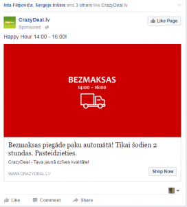Facebook reklāma - iMarketings.lv