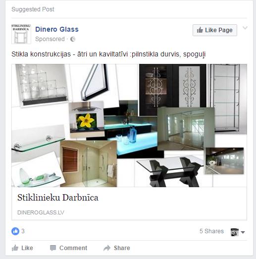 Facebook reklāma - iMarketings.lv. CTA