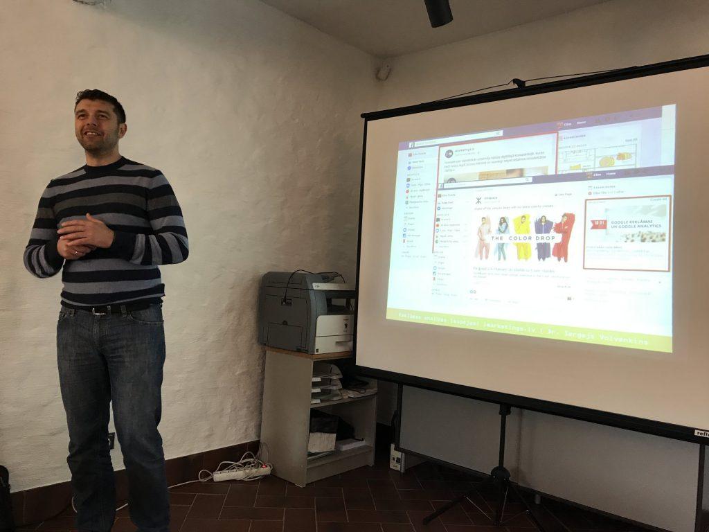 Facebook seminārs