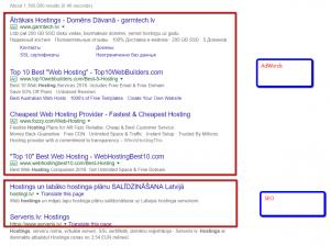 Google AdWords un/vai SEO