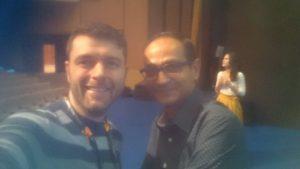Dr.Sergejs Volvenkins with Avinash Kaushik