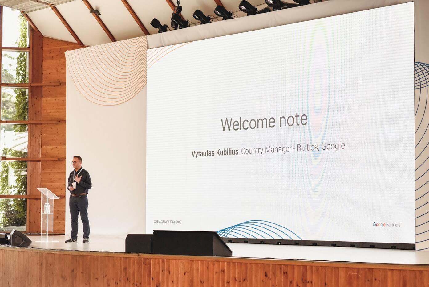 Google agency days in Jurmala Latvia