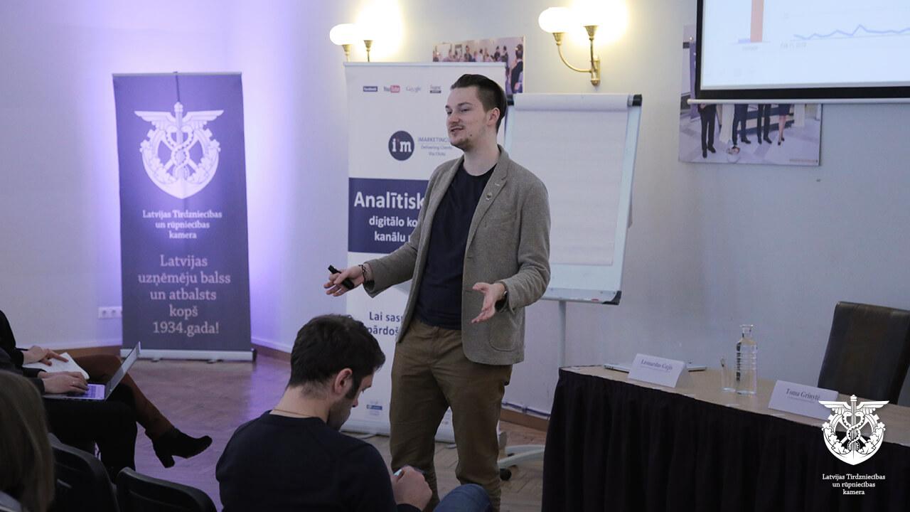 Eksporta iespējas, seminārs iMarketings.lv ar Google, digitālais mārketings, Leo