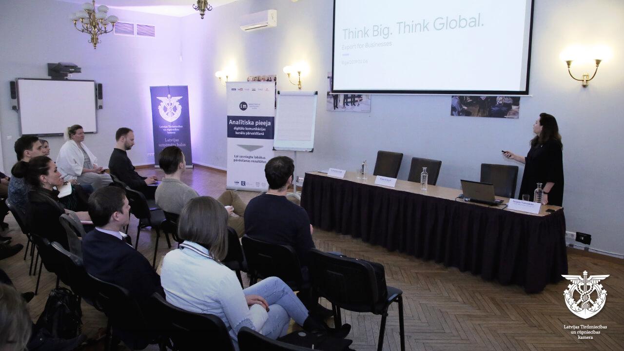 Eksporta iespējas, seminārs iMarketings.lv ar Google, digitālais mārketings, Toma